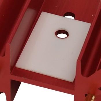 Klebe-Pad zur Montage der MResist ultra Widerstände