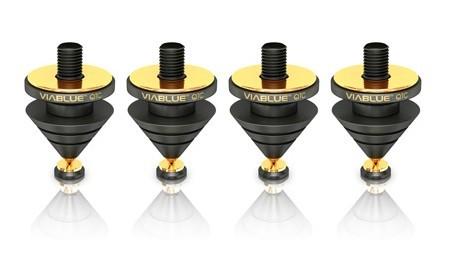 QTC Spikes schwarz, 32-teilig, 4 Stück