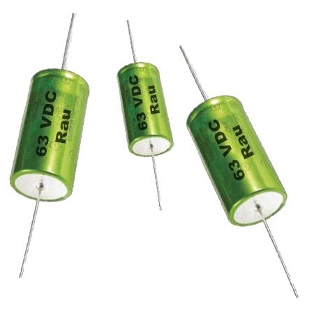 150 µF Elektrolytkondensator (Rau) 63 VDC