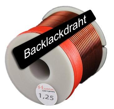 Mundorf Luftspule mit Backlackdraht Ø 1,25 mm