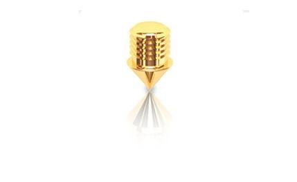 QTC Ersatzspitze Gold 4 Stück