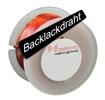 Mundorf Luftspule mit Backlackdraht Ø 1,40 mm