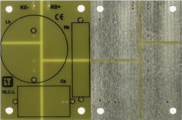 Universalleiterplatte für 2- bis 3-Wege Kombinationen.