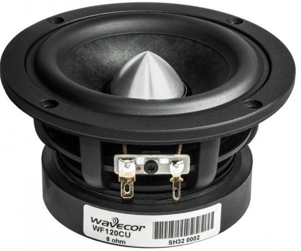 Wavecor Mitteltieftöner WF120CU08 mit Glasfaser und Phase Plug