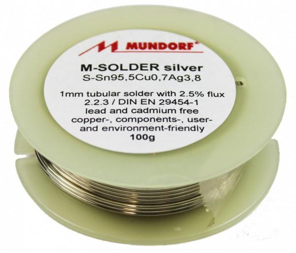 Mundorf Silberlötzinn 100g Spule (Restposten)