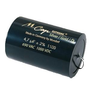 0,01 µF Supreme Silber Gold Öl - 1000 VDC