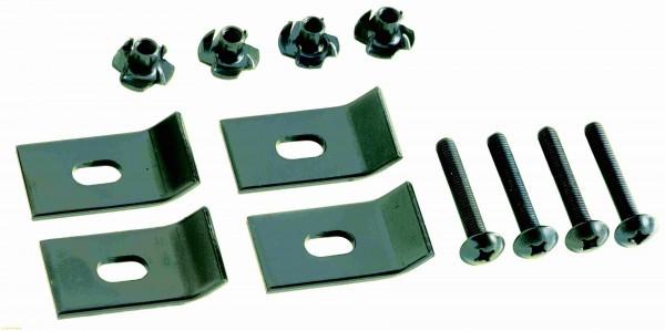 Befestigungsklammern BS3 für Lautsprecher Schutzkitter