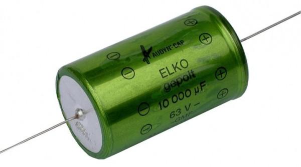 10 µF Elektrolytkondensator (Glatt) 50 VAC
